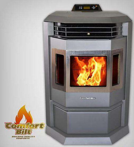 ComfortBilt HP22-SS 2,800 sq. ft. EPA Certified Pellet Stove with Auto Ignition 55 lb Hopper Capacity New