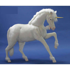 Hansa Creations 4932 Realistic Unicorn Studio Size 60 Inch Stuffed Animal Toy New