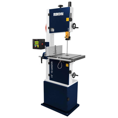 "Rikon 10-326DVR 14"" Deluxe Bandsaw 1.75HP Motor with Smart Motor DVR New"