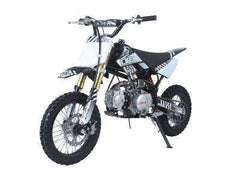 Ice Bear PAD125-1D Roost USD 125cc Dirt Bike 4 Speed Manual Kick Black with White New
