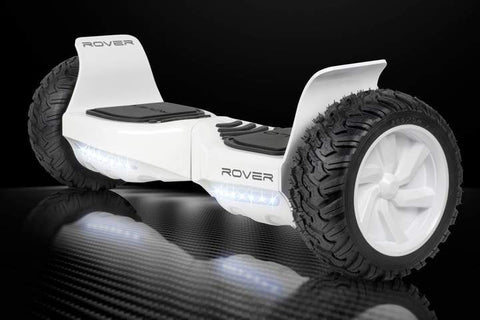 "Halo Rover Electric Hoverboard Bluetooth 8.5"" White Manufacturer RFB"