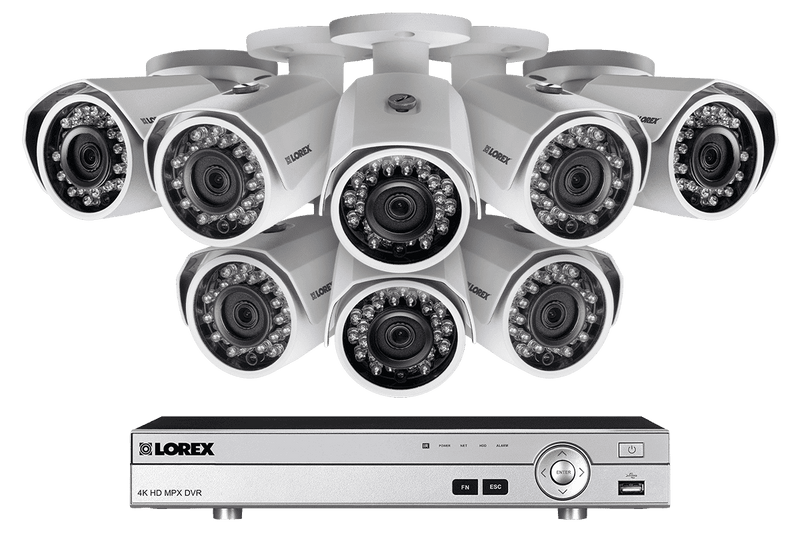 Lorex MPX168W 1080P HD Weatherproof 8 Camera 16 Channel 3 TB MPX DVR Surveillance Security System New