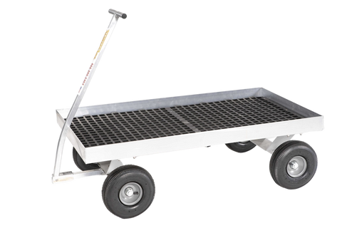 Alumacart Cypress Aluminum 48.75in 400 lb capacity Wagon New