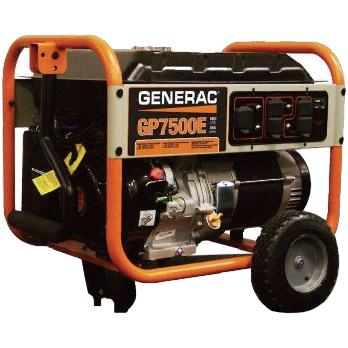 Generac/Honeywell GP7500E/HW7500E 7500W/9375W Gas Generator Electric Start New