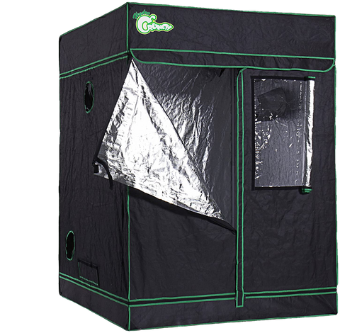 Hydro Crunch D940008800 5 ft. x 5 ft. x 6.5 ft. Heavy Duty Grow Room Tent New