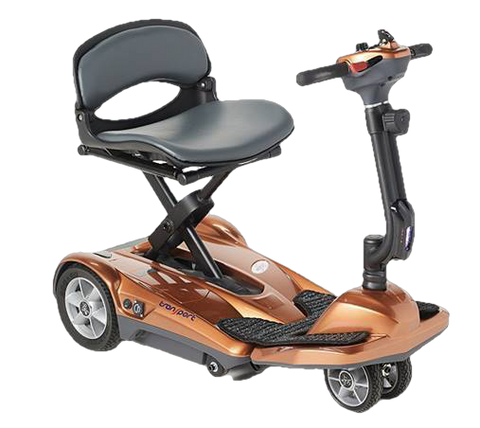 EV Rider Transport M Easy Move Scooter Lithium Folding Scooter Copper Open Box (free upgrade to new unit)