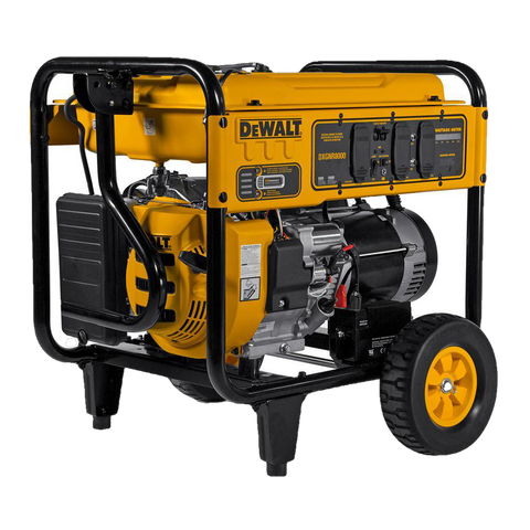 Dewalt DXGNR8000 8000W/10000W Auto Idle CO Protect Electric Start Generator Manufacturer RFB