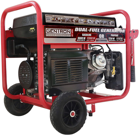 Gentron/All Power America GG12000GL 9000W/12000W Electric Start Dual Fuel Generator New