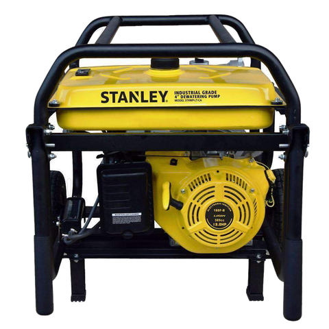 Stanley ST4WPLT-CA 13 HP 4 in. Suction Non-Submersible Displacement Water Pump Open Box (Never Used)