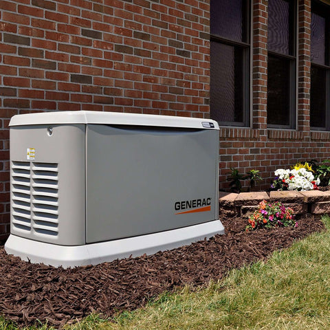 Generac 7043 Guardian 22kW Standby Generator with Smart Transfer
