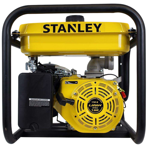 Stanley ST2WPLT 7 HP 2 in. Suction and Discharge Ports Non-Submersible Displacement Water Pump New