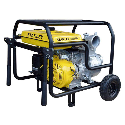 Stanley ST4WPLT-CA 13 HP 4 in. Suction Non-Submersible Displacement Water Pump New