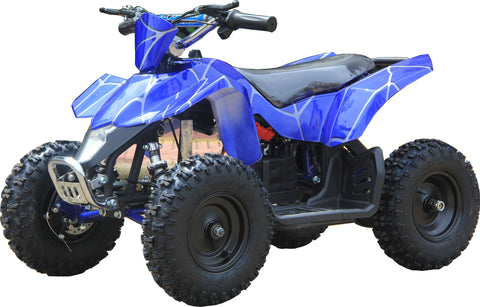Go-Bowen XW-EA18-BS Sahara X 24V Mini Quad Blue Spider Blue New