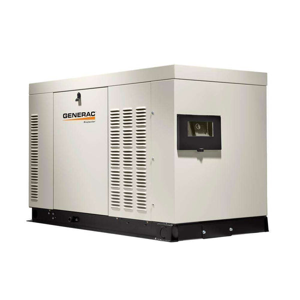 Generac Protector 45kW RG04524ANAX Liquid Cooled 1 Phase 120/240V LP/NG Standby Generator New