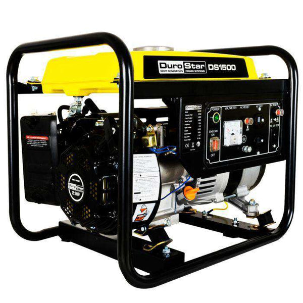 DuroStar DS1500 1200W/1500W 2.1 HP Gas Portable Generator New