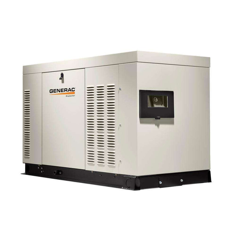 Generac Protector 25kW RG02515ANAX Liquid Cooled 1 Phase 120/240V LP/NG Standby Generator New