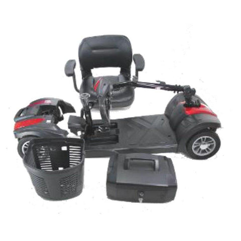 EV Rider Minirider Lite 4 Wheel Mobility Scooter Blue Open Box