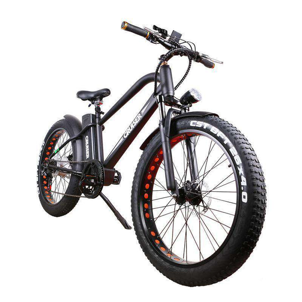 NAKTO 26 inch 500W Super Cruiser Electric Bicycle 5 Speed E-Bike 48V Lithium Battery New