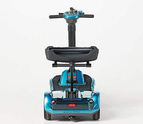 EV Rider Transport AF+ Automatic Folding Scooter Blue Open Box (free upgrade to new unit)