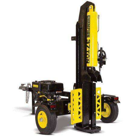 Champion 100330 37 Ton Horizontal/Vertical Towable Log Splitter New
