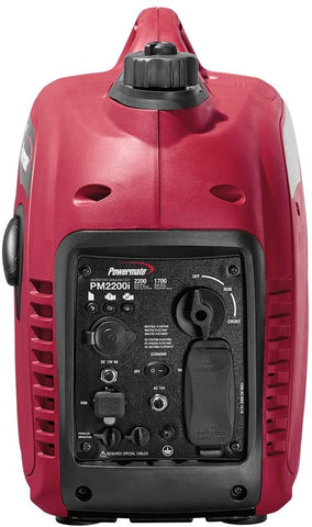 Powermate PM2200i 10000001790 1700W/2200W CARB Gas Inverter Generator New