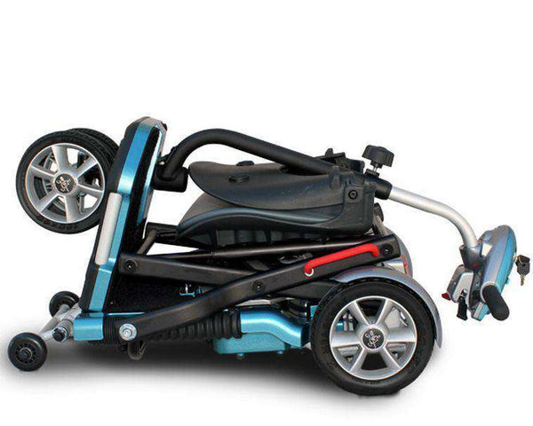 EV Rider Transport AF Automatic Folding Scooter Blue Open Box (Free upgrade to new unit)