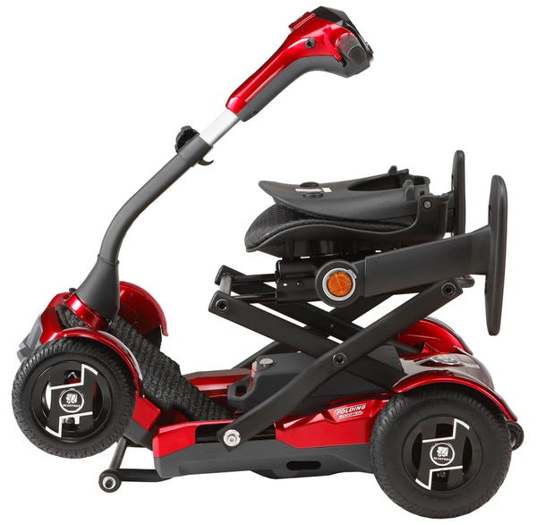 EV Rider Teqno AF S26 Automatic Folding Mobility Scooter Red New