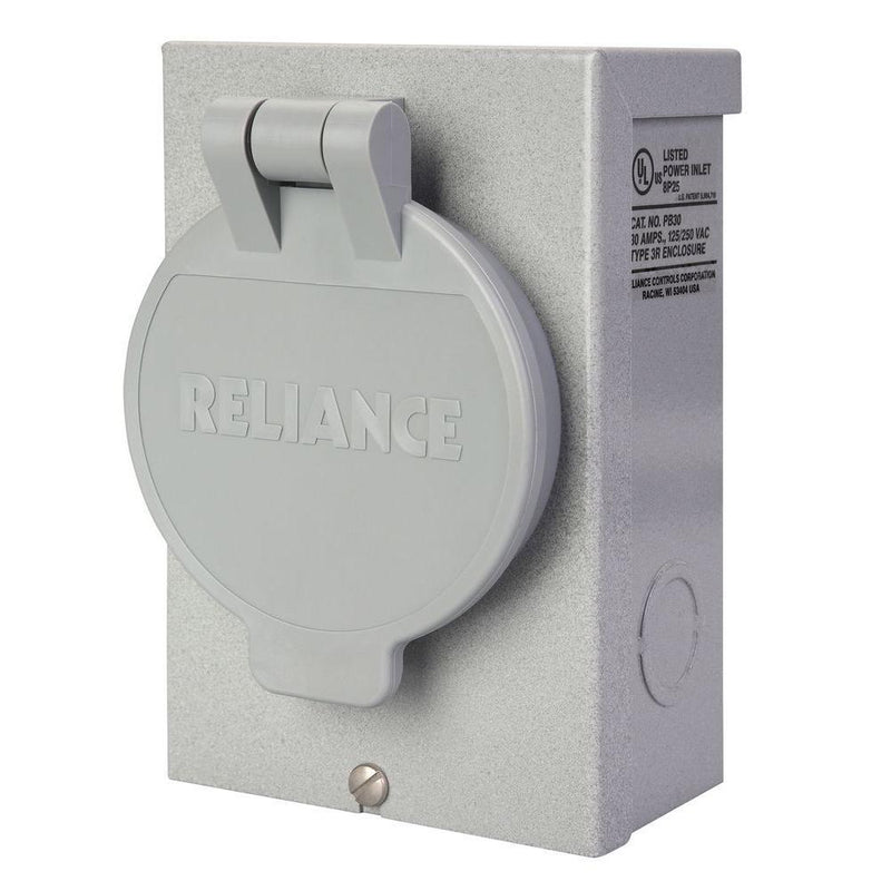 Reliance PB50 50 Amp Power Inlet Box New
