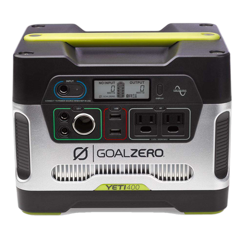 Goal Zero 23000 Yeti 400 110V Portable Power Station Solar Generator New