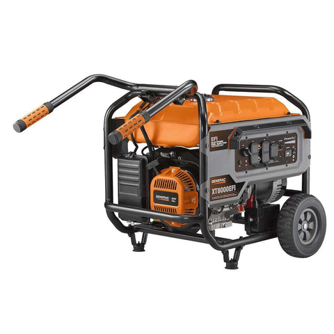 Generac XT8000EFI 8000W/10000W Electronic Fuel Injection Generator Electric Start Manufacturer RFB