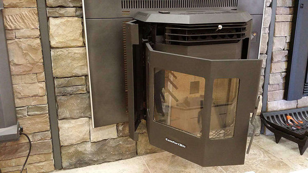 ComfortBilt HP22I 2,800 sq. ft. Pellet Stove Fireplace Insert 47 lb Hopper Capacity New