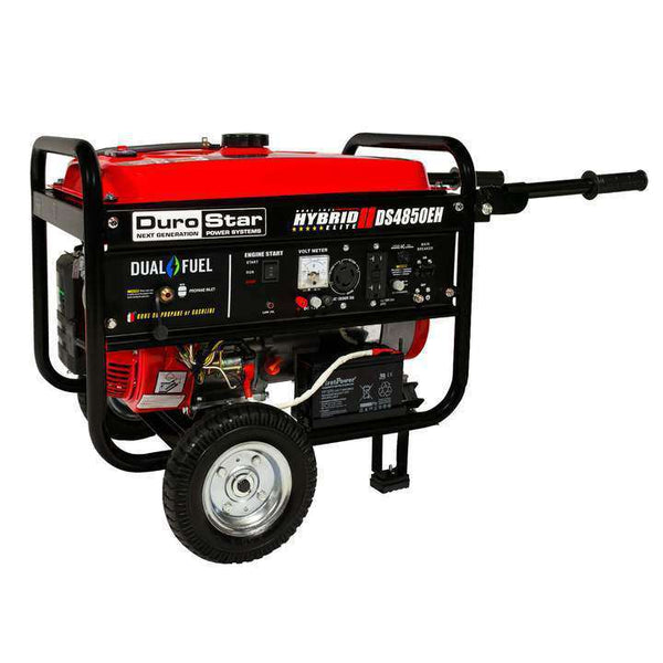 DuroStar DS4850EH 3850W/4850W Dual Fuel 7 HP Electric Start Generator New