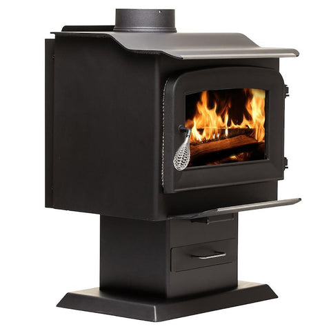 Ashley Hearth AW1120E-P EPA Certified 1,200 sq. ft. Wood Stove New