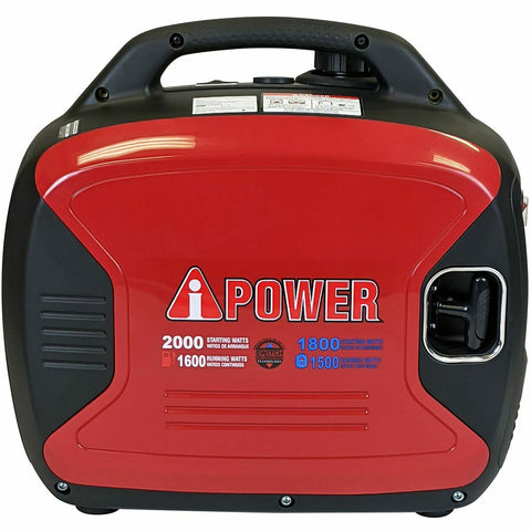 A-iPower SUA2000ID 1600W/2000W Dual Fuel Inverter Generator New