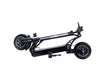"NanRobot D4+2.0 Foldable Lightweight 10"" Tires 2000W 23.4ah 52V Electric Scooter Black New"