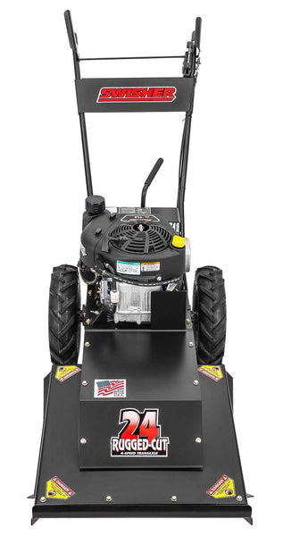 "Swisher Predator WBRC11524 24"" Briggs and Stratton 11.5HP Walk-Behind Rough Cut Trail Cutter‎ Manufacturer RFB"