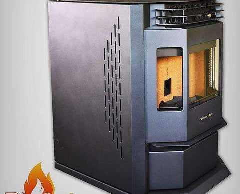 ComfortBilt HP22-N 3,000 sq. ft. Auto Ignition Pellet Stove 80lb Hopper - Scuffs/Scratches