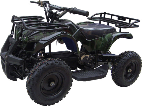 Go-Bowen XW-EA16-GC Sonora 24V Mini Quad ATV Dirt Motor Bike Green Camo New
