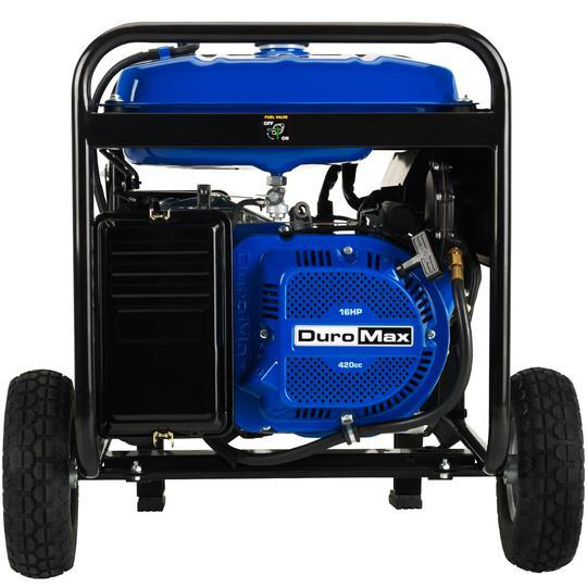 DuroMax XP8500EH 7000W/8500W Gas 16 HP Dual Fuel Electric Start Generator New