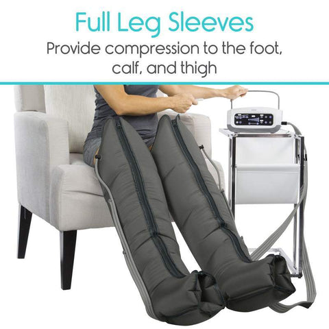 Vive Health Sequential Compression Leg Machine New