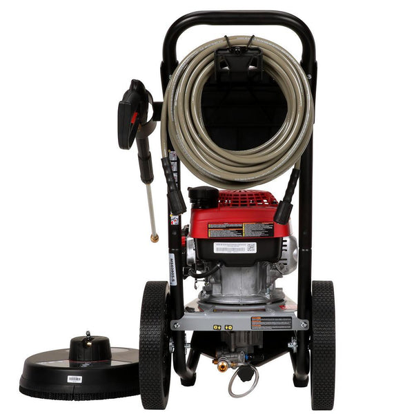 Simpson MegaShot MS60808 3000 PSI 2.4 GPM Honda GCV160 Gas Pressure Washer New