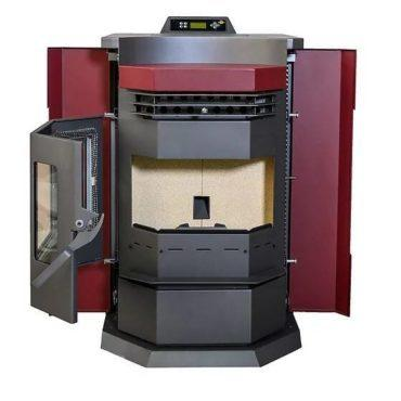 ComfortBilt HP22-N 3,000 sq. ft. EPA Certified Pellet Stove with Auto Ignition 80 lb Hopper Capacity Red New