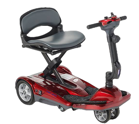 EV Rider Transport M Easy Move Scooter Lithium Folding Scooter Red Open Box (free upgrade to new unit)