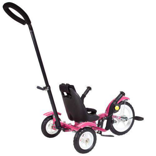 Mobo Total Tot TRI-703P The Roll-to-Ride Three Wheeled Cruiser Pink New