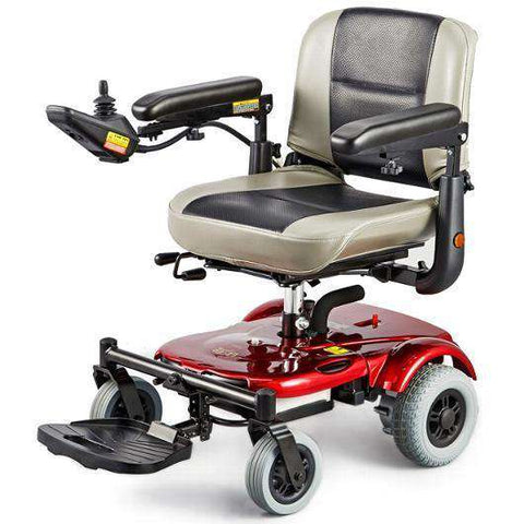Merits EZ-GO Travel Power Chair Red New