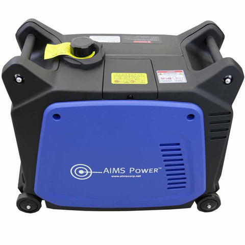 Aims GEN3200W120V 2800W/3200W CARB Electric Start Inverter Generator New