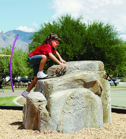UltraPlay GRN-SM Granite Boulder Small NatureROCKS Playset New