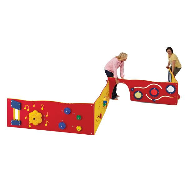 UltraPlay UP142 Learn-a-Lot Playset 4-Panel New