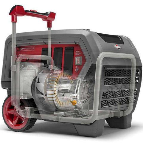 Briggs & Stratton Q6500 QuietPower 5000W/6500W Gas Generator New