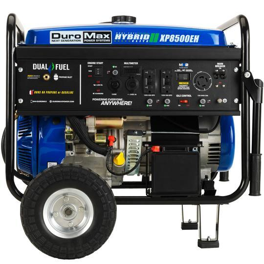 DuroMax XP8500EH 7000W/8500W Gas Dual Fuel Electric Start Generator New